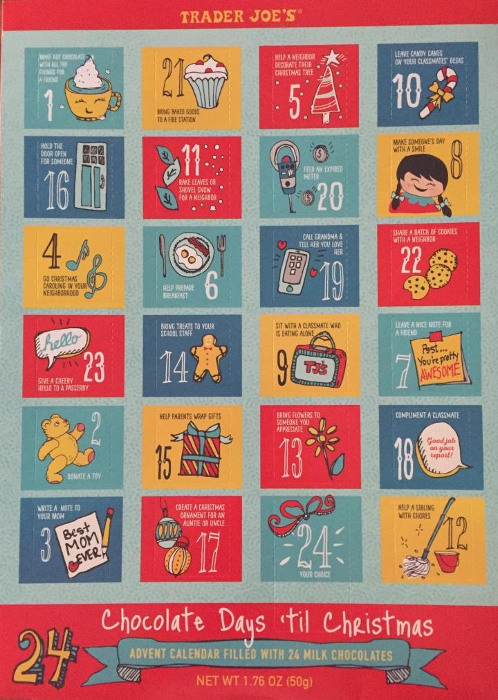 Trader Joes Advent Calendar