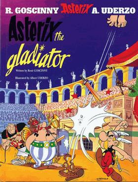 Book cover Asterix the Gladiator
