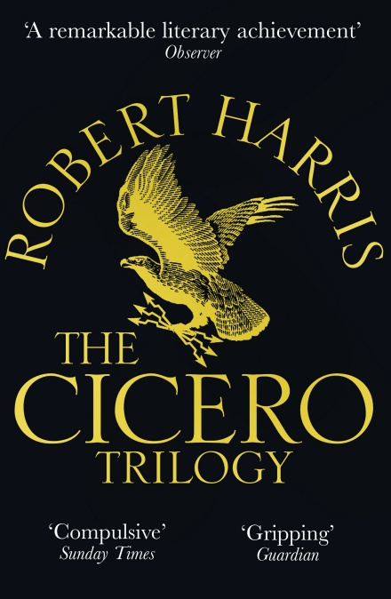 image of book cover Robert Harris The Cicero Trilogy